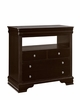 Vaughan Bassett - French Market Media Chest 4 Drawers In Antique Merlot - 380-114
