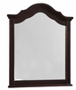 Vaughan Bassett - French Market Youth Arched Mirror In Antique Merlot - 380-443