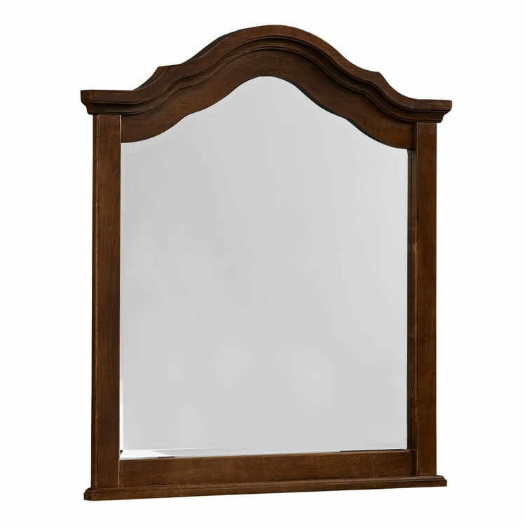 Vaughan Bassett - French Market Youth Arched Mirror In French Cherry - 382-443