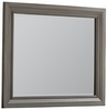 Vaughan Bassett - Reflections Landscape Mirror In Antique Pewter - 531-446