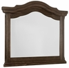 Vaughan Bassett - Rustic Hills Arch Mirror In Coffee - 680-446