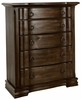 Vaughan Bassett - Rustic Hills Chest In Coffee - 680-115