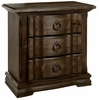 Vaughan Bassett - Rustic Hills Night Stand In Coffee - 680-227