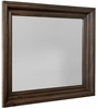 Vaughan Bassett - Rustic Hills Shadowbox Mirror In Coffee - 680-445