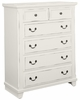 Vaughan Bassett - Timber Creek Chest In White - 674-115