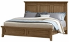 Vaughan Bassett - Timber Creek King Mansion Bed In Natural Maple - 672-766_667_922_MS-MS1_TT-666T