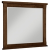 Vaughan Bassett - Timber Creek Landscape Mirror In Cherry - 670-446