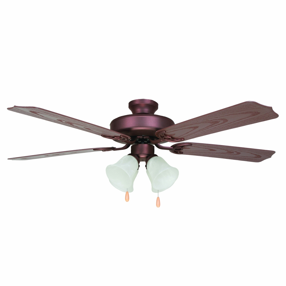 Yosemite Home Decor Patterson Collection 52 Inch Outdoor Ceiling Fan Patterson2 Orb 4