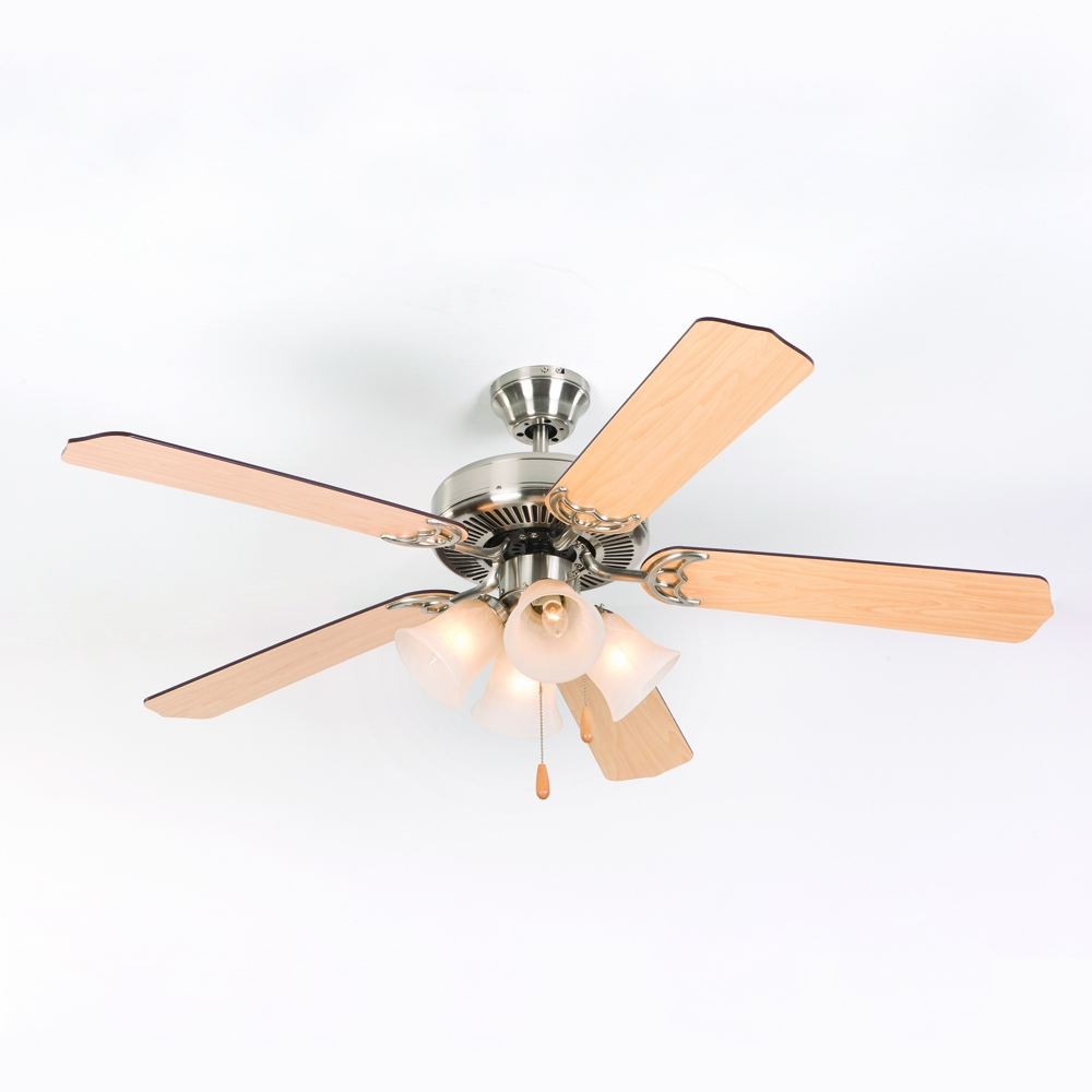 Yosemite Home Decor Westfield Collection 52 Inch Indoor Ceiling Fan Bbn 4