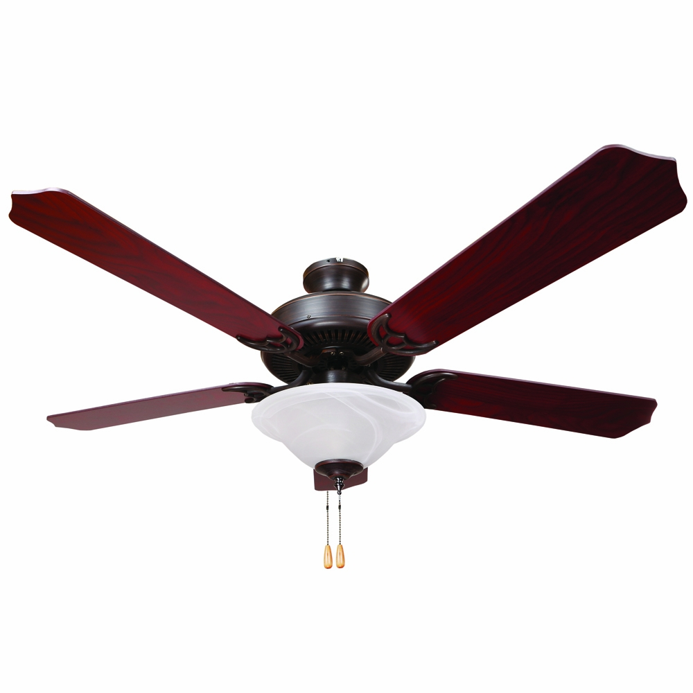 Yosemite Home Decor Westfield Collection 52 Inch Indoor Ceiling Fan Orb 1