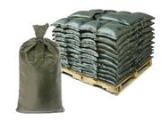 Filled Sandbags - Green Cactus HD Sandbags with 4,000 Hours UV Protection - Pallet of Pre-Filled Sand Bags