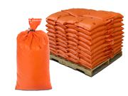 Filled Sandbags - Orange Cactus HD Sandbags with 4,000 Hours UV Protection - Pallet of Pre-Filled Sand Bags