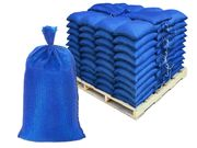 Filled Sandbags � Blue DuraBags with 10,000 Hours UV Protection - Pallet of Pre-Filled Gravel or Sand Bags