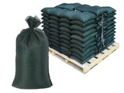 Filled Sandbags � OD Green DuraBags with 10,000 Hours UV Protection - Pallet of Pre-Filled Gravel or Sand Bags
