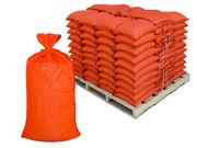 Filled Sandbags � Orange DuraBags with 10,000 Hours UV Protection - Pallet of Pre-Filled Gravel or Sand Bags