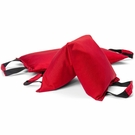 Fitness Sandbag filled w/ 25 lbs steel shot (Extreme Heavy Duty) - Red