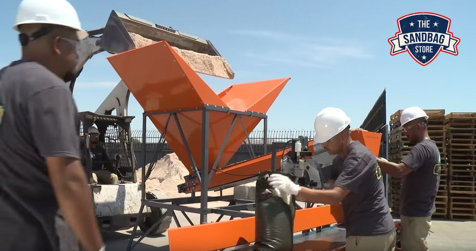 For Immediate Release: Nevada Veterans Invent Sandbagging Machine