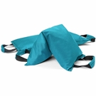 Workout Sandbag filled w/ 50 lbs steel shot (Extra Heavy Duty) - Teal