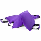 Workout Sandbag filled w/ 50 lbs steel shot (Extra Heavy Duty) - Violet