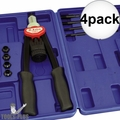 Astro Pneumatic 1427 Hand Rivet Nut Kit M5, M6, M8, M10 and M12 4x