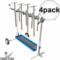 Astro Pneumatic 7300 Super Stand - Universal Rotating Parts Work Stand  4x