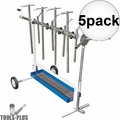 Astro Pneumatic 7300 Super Stand - Universal Rotating Parts Work Stand  5x