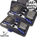 Astro Pneumatic 7580 Automotive Drill + Tap Set - SAE + Metric