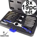Astro Pneumatic 7581 19pc Automotive Drill + Tap Set - Metric 8x