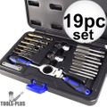 Astro Pneumatic 7581 19pc Automotive Drill + Tap Set - Metric