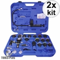 Astro Pneumatic 78585 Universal Radiator Pressure Tester Cooling Sys Kit 2x