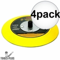 """Astro Pneumatic Tool 4607 5"""" Hook and Loop Flexible Backing Plate 5x"""