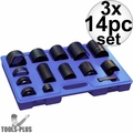 Astro Pneumatic Tool 7868 14pc Master Ball Joint Adapter Set 3x