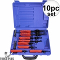 Astro Pneumatic Tool 9401 10PC Snap Ring Pliers Set