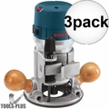 Bosch 1617EVS-46 2.25 HP Fixed-Base Electronic Router Recon 3x