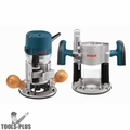 Bosch 1617EVSPK-RT 2.25 HP Combination Plunge + Fixed-Base Router Pack Recon