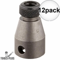 "Bosch 31895 3/8"" Female Square Drive Bit Holder for 1/4"" Hex Bits 12x"