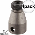 "Bosch 31895 3/8"" Female Square Drive Bit Holder for 1/4"" Hex Bits 4x"