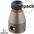 "Bosch 31895 3/8"" Female Square Drive Bit Holder for 1/4"" Hex Bits 8x"
