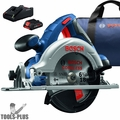 "Bosch CCS180-B15 CORE18V 6-1/2"" Circular Saw Kit w/ (1) 18V 4.0Ah Battery"