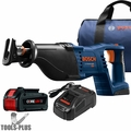 "Bosch CRS180-B15 CORE18V 1-1/8"" D-Handle Recip Saw Kit w/ 4.0 Ah Battery"