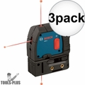 Bosch GPL3-rt Reconditioned 3-Point Self-Leveling Alignment Laser 3x
