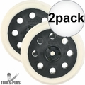 """Bosch RS030 5"""" Extra Soft Hook and Loop Replacement Pad 2x"""