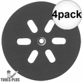 """Bosch RS6046 6"""" Hook and Loop Hard Backing Pad 4x"""
