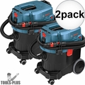 Bosch VAC090AH 9 Gallon HEPA Dust Extractor w/ Automatic Filter Clean 2x