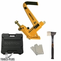Bostitch MFN201 Manual Hardwood Flooring Cleat Nailer KIT 1/2~5/8 wood