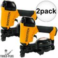 "Bostitch RN46-1 3/4"" to 1-3/4"" 15 Deg. Coil Roofing Nailer 2x"