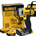"""DeWalt DCF880B 20V MAX* 1/2"""" Impact Wrench w/2 5Ah Battery+Charger"""