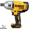 "DeWalt DCF897B 20V MAX* XR Brushless High Torque 3/4"" Impact Wrench with Hog Ring Retention Pin Anvil"