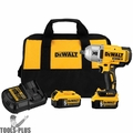 "DeWalt DCF899P2 20V MAX* XR Brushless High Torque 1/2"" Impact Wrench with Detent Pin Anvil"