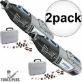 Dremel 8220-DR-RT Performance Variable Speed Rotary Tool Kit Recon 2x